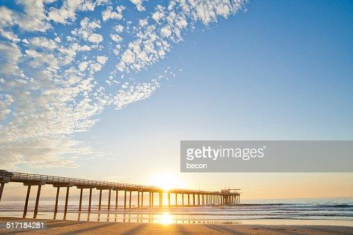 サンディエゴの夕日