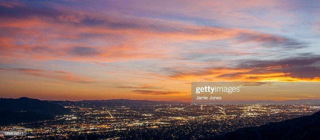 San Fernando Sunset