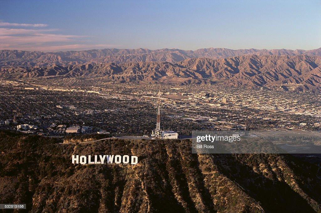 San Fernando Valley and Hollywood Hills