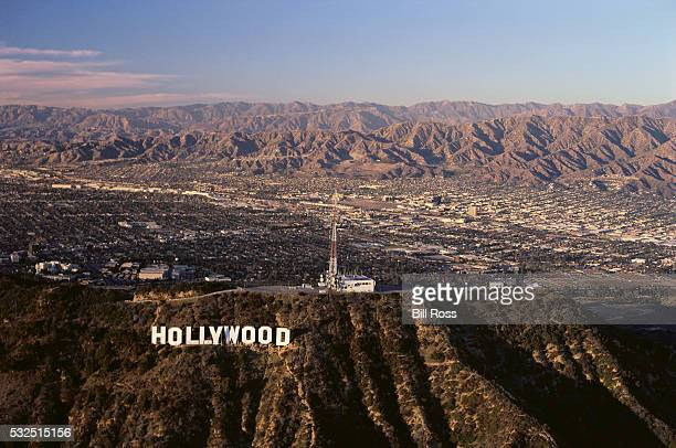 San Fernando Valley and Hollywood Hills