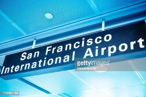 San Francisco Airport sign