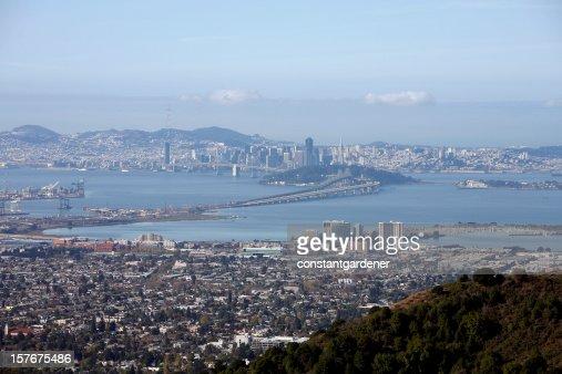 De San Francisco y de la Bahía Este de Berkeley Hills