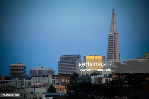San Francisco at Dusk : Stock Photo