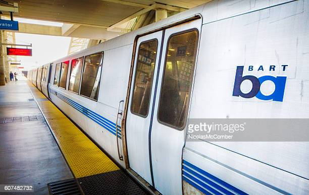 San Francisco bart train at San Jose station