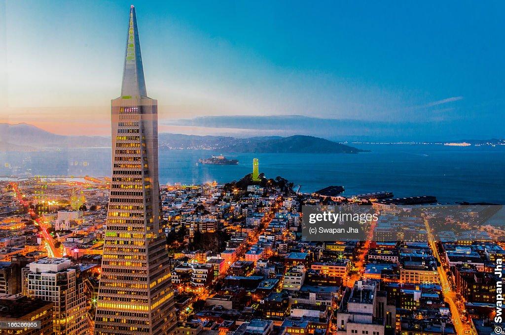 San Francisco Blue Hour Skyline
