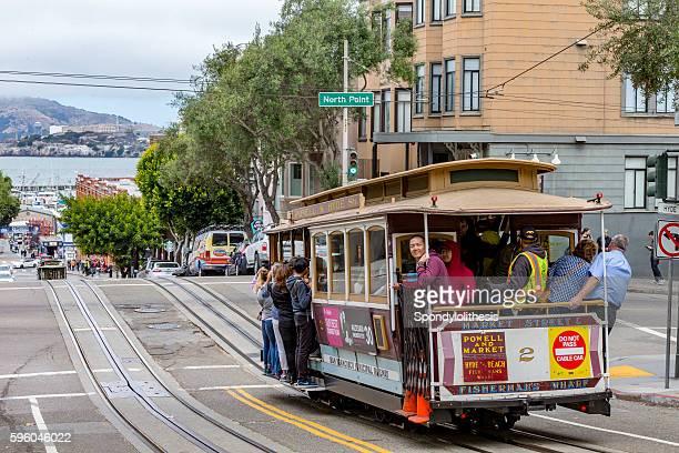 San Francisco Cable Car Alcatraz Island