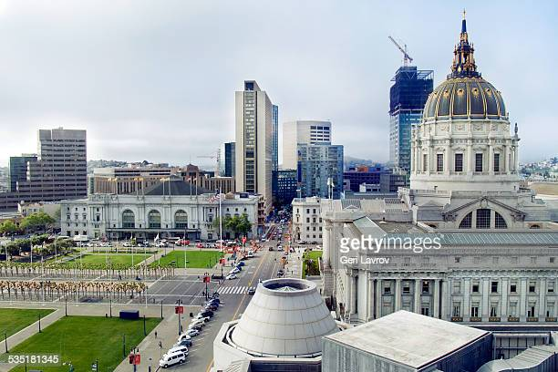 San Francisco City Hall and Civic Center area