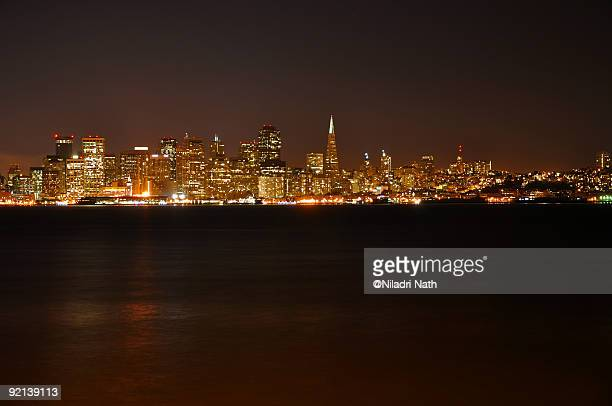 San Francisco city lights