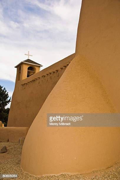 San Francisco de Asis Mission church exterior, Taos, New Mexico, USA