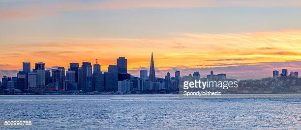 San Francisco Downtown Panorama, California