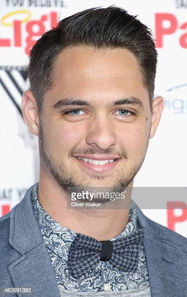 San Francisco Giants pitcher Tyler Beede arrives at the premiere of 'Pass The Light' at ArcLight Cinemas on February 2 2015 in Hollywood California