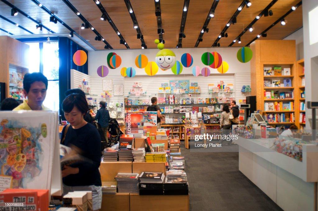 San Francisco Museum of Modern Art gift shop.