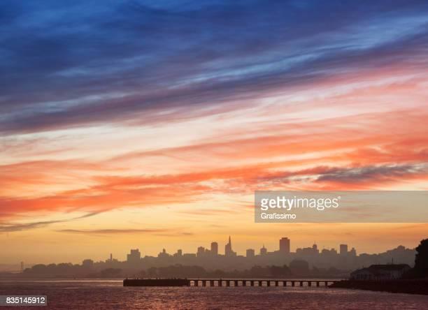 San Francisco Panorama Skyline am Morgen