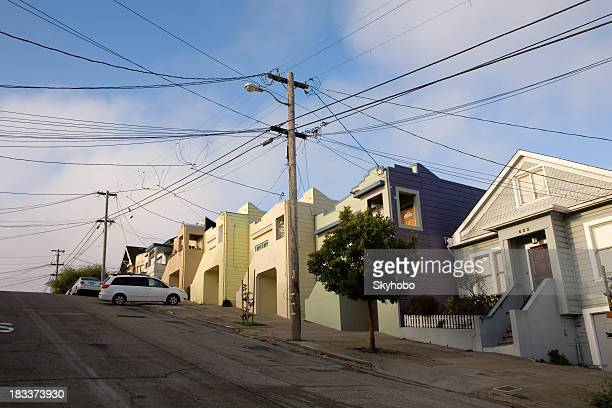San Francisco-Reihenhäuser