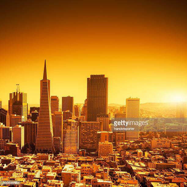 transamerica pyramid san francisco stock fotos und bilder getty images. Black Bedroom Furniture Sets. Home Design Ideas
