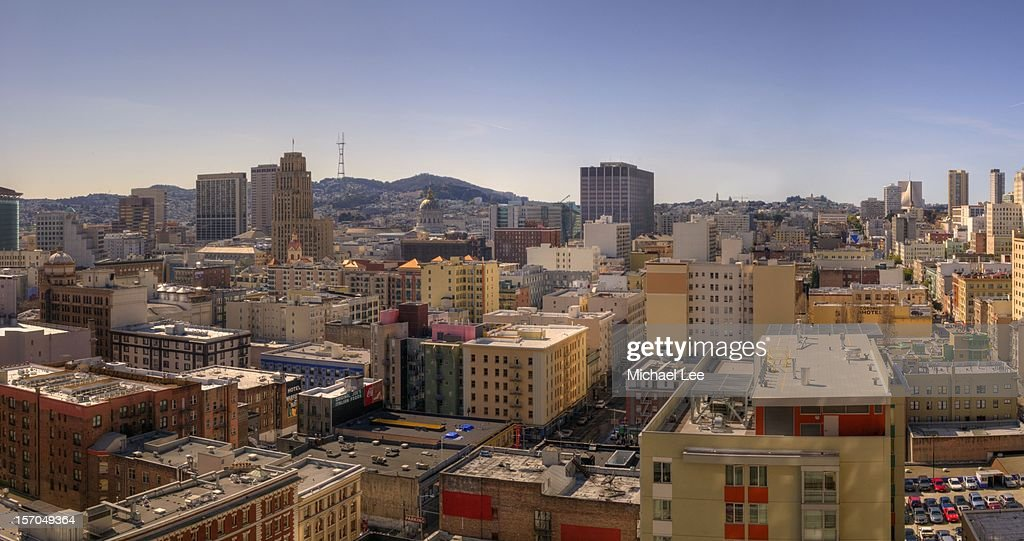 San Francisco Skyline Panorama : Stock Photo