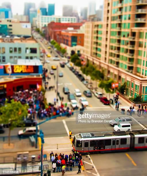 San Francisco Street Scene Miniature
