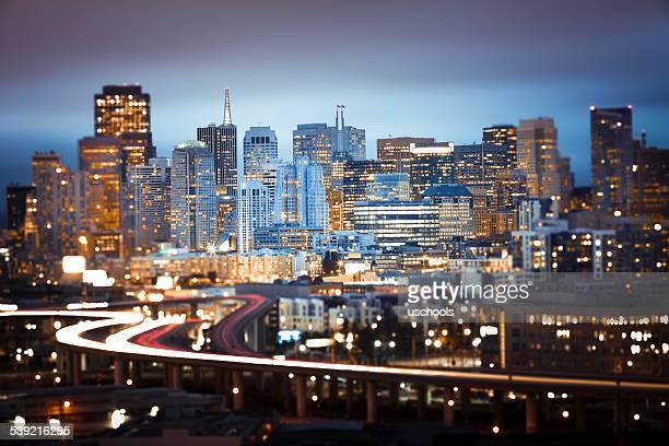 忙しい都市生活