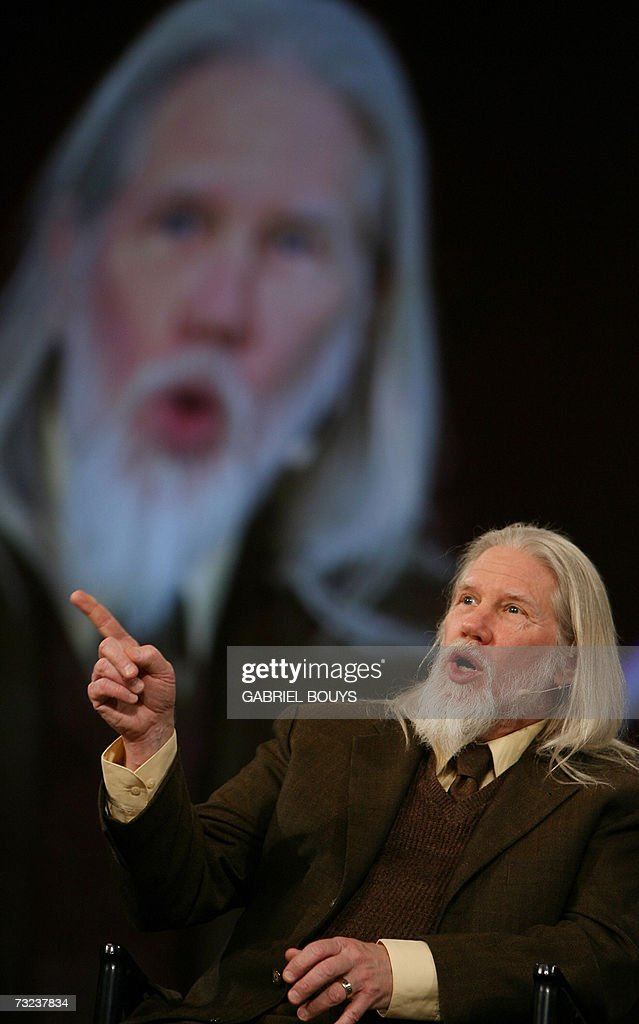 Whitfield Diffie, Chief Security Officer of Sun Microsystems, Inc, speaks at a conference at the RAS Conference 2007 in San Francisco, 06 February 2007. Diffie is the recipient of many industry awards. Known for his discovery of the concept of public key cryptography, he has testified several times in the US Senate and House of Representatives to oppose limitations on business and personal use of cryptography. AFP PHOTO/GABRIEL BOUYS