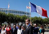 San Francisco's French Consul General Emmanuel LebrunDamiens speaks in San Francisco California on July 16 during a vigil and moment of silence for...