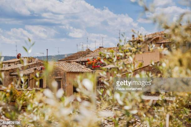 San Gimignano buildings, Tuscany