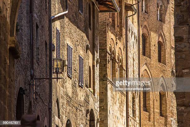 San Gimignano houses
