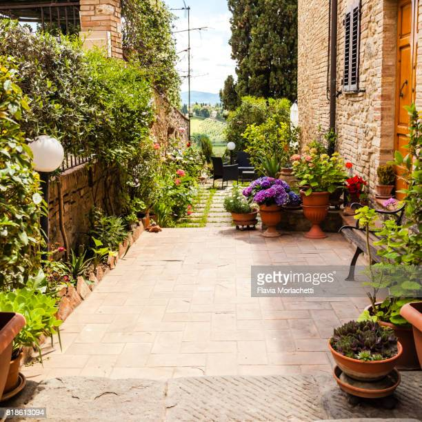 San Gimignano street, Tuscany