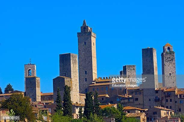 San Gimignano UNESCO World Heritage Tuscany Italy Siena Province