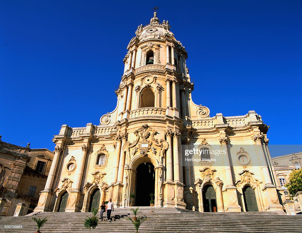 san giorgio church, modica, sicily, italy pictures | getty images