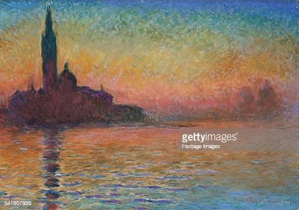 San Giorgio Maggiore by twilight' 1908 Artist Claude Monet