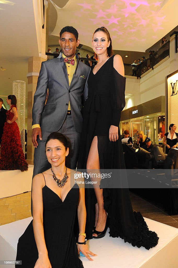 San Jose Earthquakes' Khari Stephenson wears Franko Uomo designs at the Couture Funding A Cure The 2012 Santa Clara County Gala on November 17 2012...