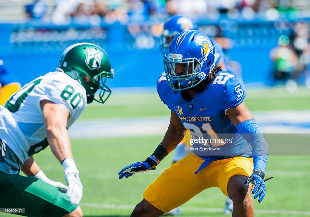 NCAA FOOTBALL: SEP 10 Portland State at San Jose State