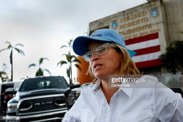 San Juan mayor Carmen Yulin Cruz believes this is not the time for politics including the discussion of statehood for Puerto Rico She says all should...