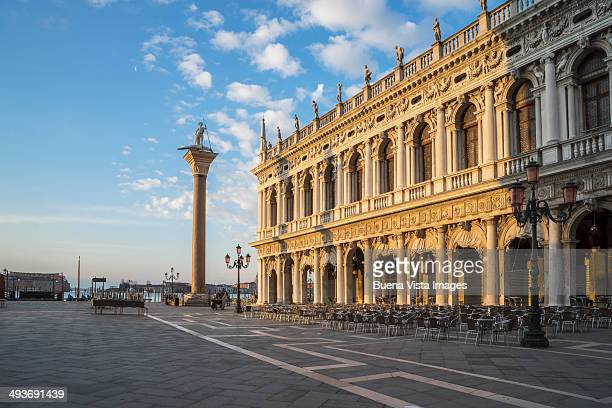 San Marco Square at sunrise