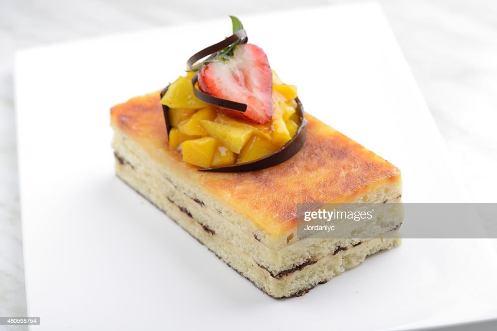 San Marcos Cheese Cake : Stock Photo