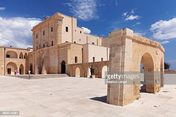 San Maria de Finibus Terrae pilgrimage church, Santa Maria di Leuca, Lecce province, Salentine Peninsula, Puglia, Italy, Europe