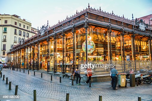 San Migeul Market in Madrid, Spain