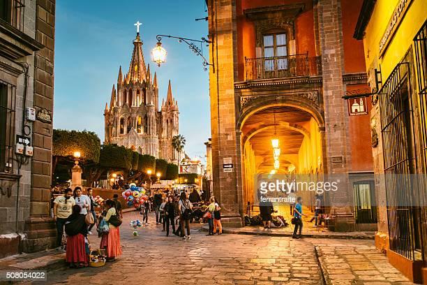 San Miguel de Allende no México