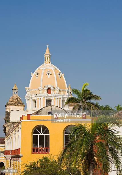 San Pedro Claver Church In Cartagena, Colombia