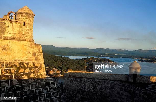 San Pedro del Morro castle in Santiago De Cuba Cuba Built in 1637 houses the Museum Piracy