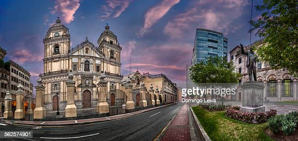 San Peter church in Lima, Peru