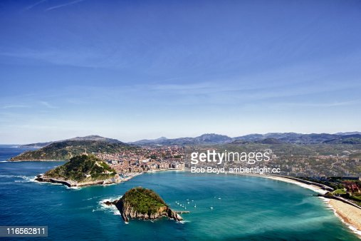 San Sebastian, Spain : Stock Photo