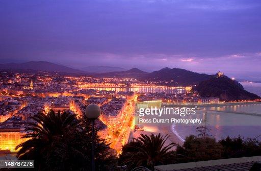 San Sebastian, Spain : Foto de stock