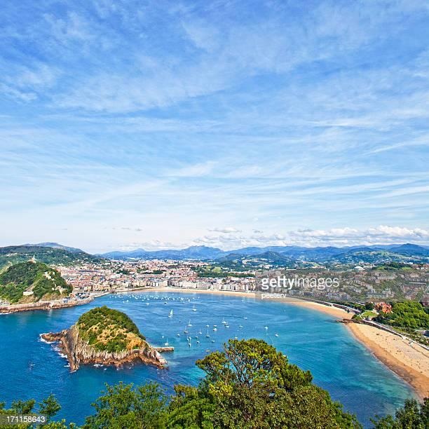 San Sebastian view.