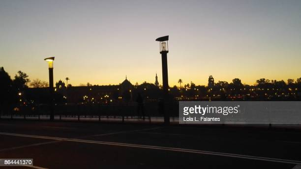 San Telmo bridge at sunrise