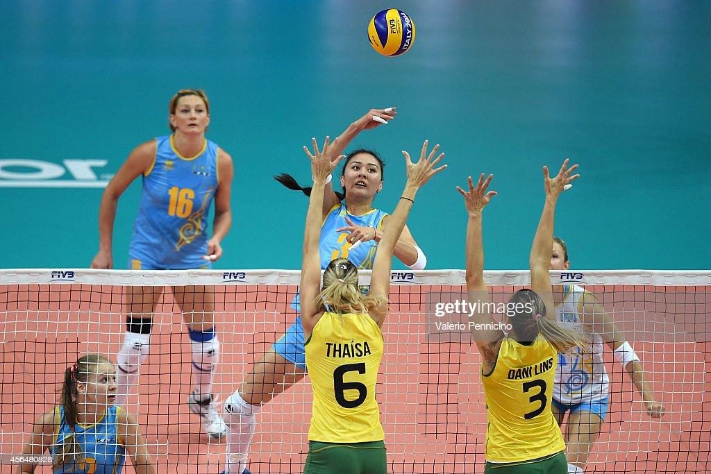 Brazil v Kazakhstan - FIVB Women's World Championship