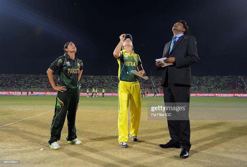 Australia Women v Pakistan Women - ICC Womens World Twenty20 Bangladesh 2014