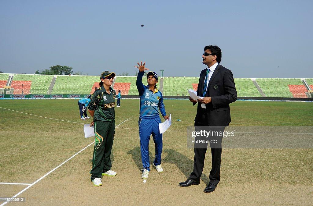Pakistan Women v Sri Lanka Women - ICC Womens World Twenty20 Bangladesh 2014
