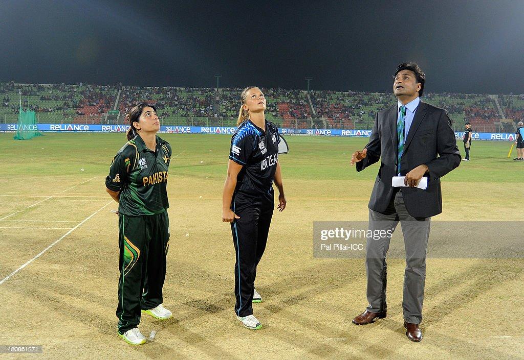 New Zealand Women v Pakistan Women - ICC Womens World Twenty20 Bangladesh 2014