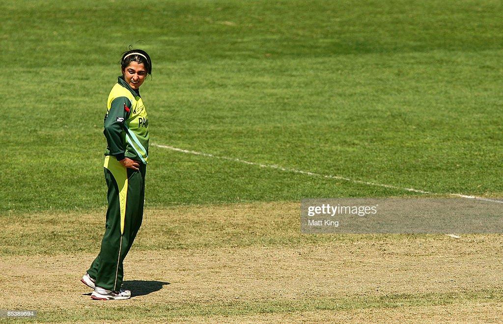 England v Pakistan - ICC Women's World Cup 2009 : News Photo
